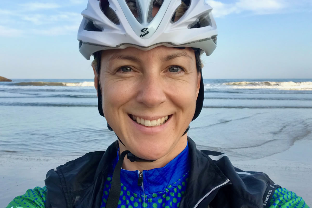 Debra Searle - Atlantic to the Med Cycle