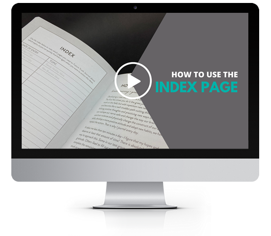 Debra Searle - How to use the index page